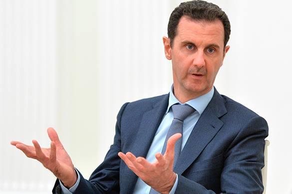 Башар Асад в Москве