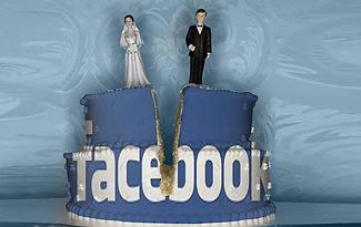 Facebook заставляет разводиться